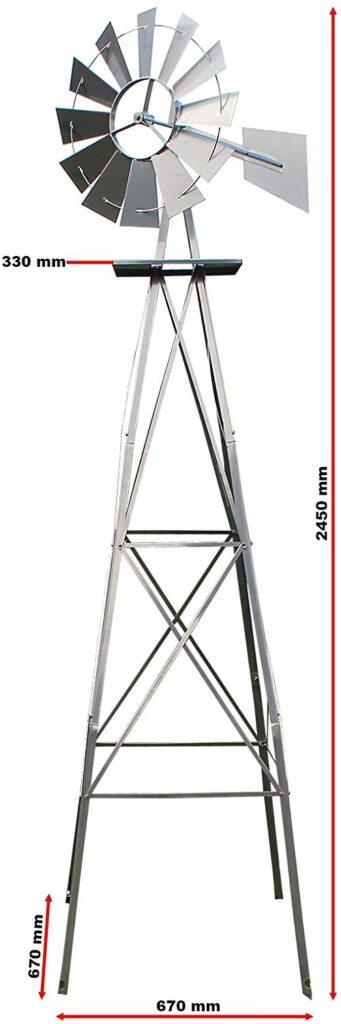 Design per bambini nel Museo dei diritti dell'infanzia - image amazon-US-windmill-245cm-mulino-a-vento-in-grigio-silver-mulino-341x1024 on http://www.designedoo.it