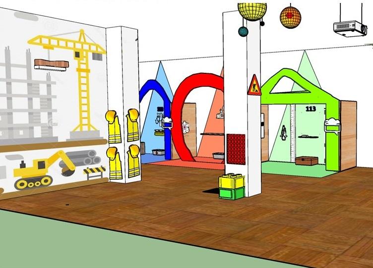 Design per bambini nel Museo dei diritti dell'infanzia - image cantiere-Diapositiva10 on http://www.designedoo.it